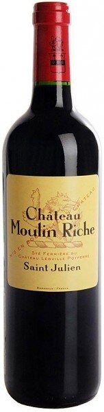 Вино Chateau Moulin Riche, Saint-Julien AOC, 2006
