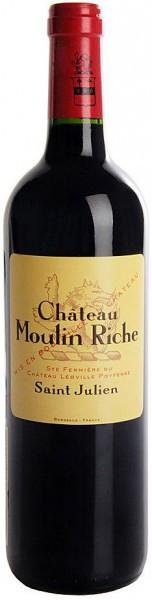 Вино Chateau Moulin Riche, Saint-Julien AOC, 2006