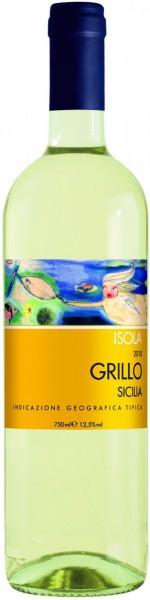 """Вино Castellani, """"Isola"""" Grillo, Sicilia IGT, 2011"""