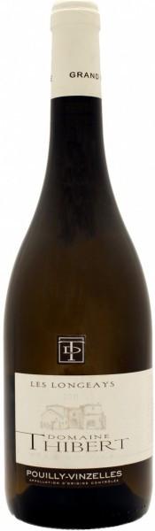 """Вино Domaine Thibert Pеre et Fils, """"Les Longeays"""", Pouilly-Vinzelles AOC, 2010"""