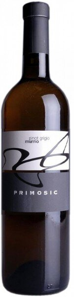 "Вино Primosic, ""Murno"" Pinot Grigio, Collio DOC, 2013"