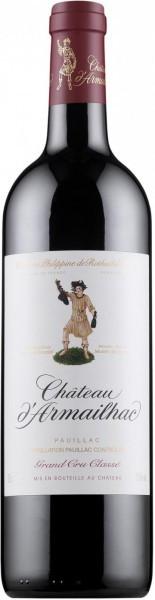 Вино Chateau d'Armailhac, Pauillac AOC 5-me Grand Cru Classe, 2013