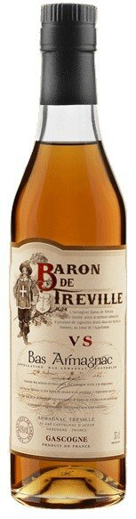 Арманьяк Baron de Treville VS, 0.5 л