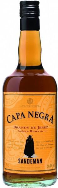 "Бренди Sandeman, ""Capa Negra"" Solera Reserva, 0.7 л"