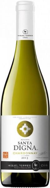 "Вино Torres, ""Santa Digna"" Chardonnay, 2013"