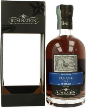 "Ром ""Rum Nation"", Panama 10 Years Old, gift box, 0.7 л"