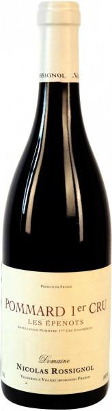 "Вино Domaine Nicolas Rossignol, Pommard 1er Cru ""Les Epenots"", 2012"