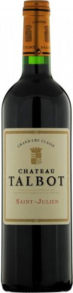 Вино Chateau Talbot, St-Julien AOC 4-me Grand Cru Classe, 2004, 1.5 л