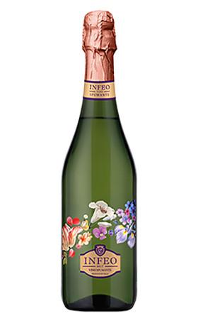 Игристое вино Infeo Brut 0.75л