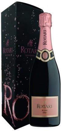 Игристое вино Rotari, Rose Brut, Trento DOC, gift box