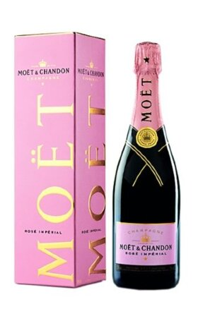 Шампанское Moet & Chandon Rose Imperial gift box 0.75л