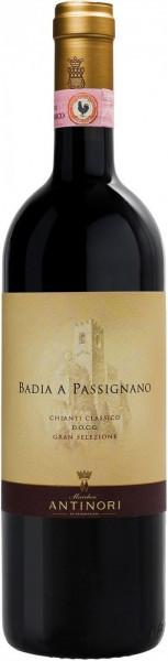 """Вино """"Badia A Passignano"""", Chianti Classico DOCG Gran Selezione, 2016"""
