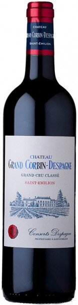 Вино Chateau Grand Corbin-Despagne, Saint-Emilion AOC, 2010