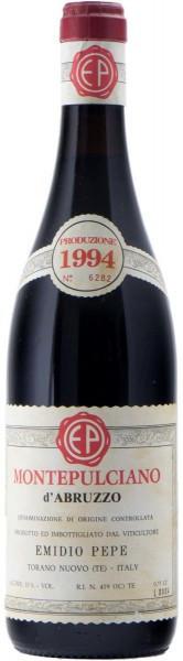 Вино Emidio Pepe, Montepulciano d'Abruzzo DOC, 1994