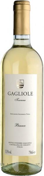 Вино Gagliole Bianco, Toscana, IGT, 2009