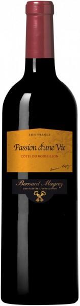 """Вино """"Passion d'une Vie"""", Cotes du Roussillon AOC, 2010"""