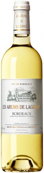 Вино Les Arums De Lagrange, 2009