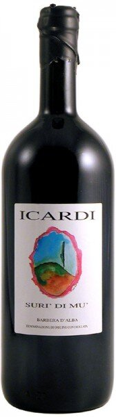 "Вино ""Suri di Mu"", Barbera d'Alba DOC, 2009, 1.5 л"