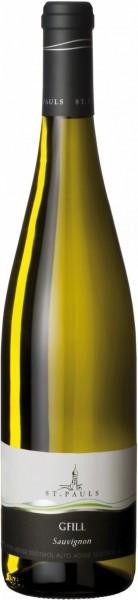 """Вино St. Pauls, """"Gfill"""" Sauvignon, Alto Adige DOC, 2015"""
