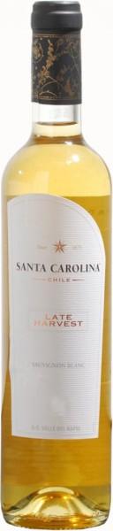 Вино Santa Carolina, Late Harvest, Valle del Rapel DO, 0.5 л