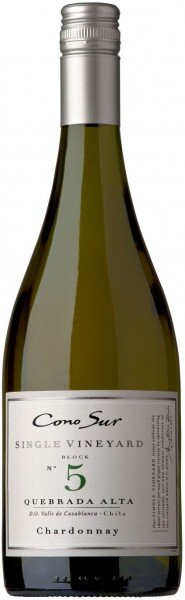 "Вино Cono Sur, ""Single Vineyard"" Chardonnay, Casablanca Valley DO"