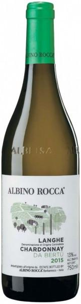 "Вино Albino Rocca, ""Da Bertu"" Chardonnay, Langhe DOC, 2015"