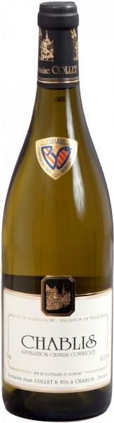 Вино Domaine Jean Collet et Fils, Chablis, 2015