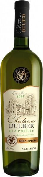 "Вино ""Chateau Dulber"" Chardonnay"