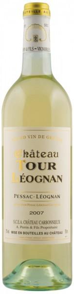 "Вино ""Chateau Tour Leognan"" Blanc, Pessac-Leognan AOC, 2007"