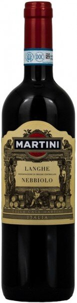 "Вино ""Martini"" Langhe Nebbiolo, Piemonte DOC"