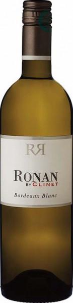 "Вино ""Ronan by Clinet"" Blanc, Bordeaux AOC, 2014"