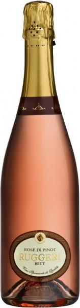 Игристое вино Rugeri, Rose di Pinot Brut