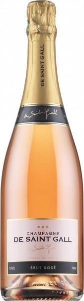 Шампанское De Saint Gall, Brut Rose, Champagnе AOC