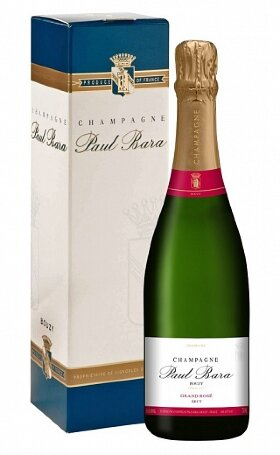 Шампанское Champagne Paul Bara Grand Rose Brut Bouzy Grand Cru gift box 0.75л