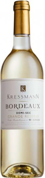 "Вино Kressmann, ""Grande Reserve"" Bordeaux AOC Demi-sec, 2012"