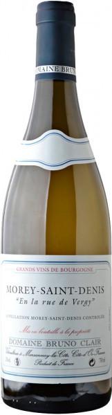 "Вино Domaine Bruno Clair, ""En la rue de Vergy"" Blanc, Morey-Saint-Denis AOC, 2005"