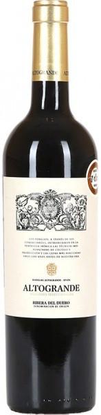 """Вино """"Altogrande"""" Vendimia Seleccionada, Ribera del Duero DO"""