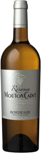 "Вино Reserve ""Mouton Cadet"", Bordeaux AOC Blanc, 2013"