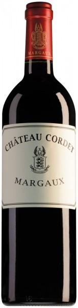 Вино Chateau Cordet, Margaux, 2012