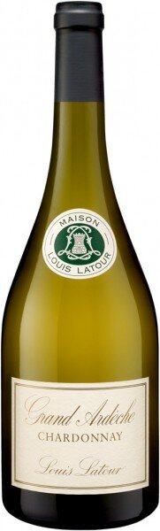 """Вино Louis Latour, """"Grand Ardeche"""" Chardonnay, Coteaux de L'Ardeche, 2013"""