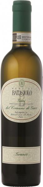 """Вино Batasiolo, """"Granee"""", Gavi del Comune di Gavi DOCG, 2012, 0.375 л"""