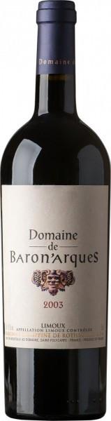 "Вино ""Domaine de Baron'Arques"", Limoux AOC, 2003"
