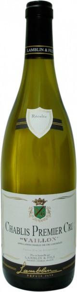 "Вино Lamblin & Fils, Chablis Premier Cru ""Vaillon"" AOC"