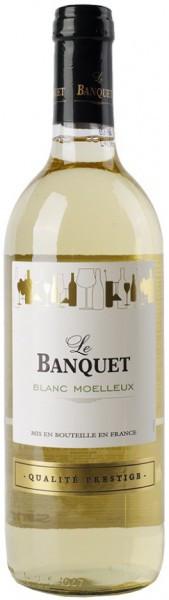 """Вино """"Le Banquet"""" Blanc Moelleux"""