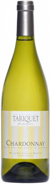 Вино Domaine du Tariquet, Chardonnay, Cotes de Gascogne VDP, 2013
