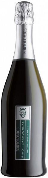 """Игристое вино Bortolomiol, """"Versatili"""" Pinot Chardonnay"""