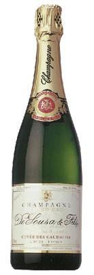 Игристое вино Cuvee des Caudalies Grand Cru AOC Blanc de Blanc