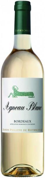 "Вино Baron Philippe De Rothschild, ""Agneau"" Blanc, Bordeaux AOC, 2015"