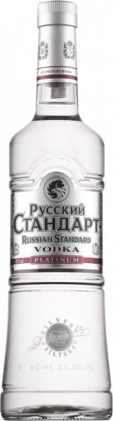 Водка Russian Standard Platinum, 1 л