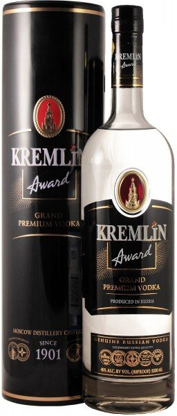 "Водка ""Kremlin Award"", metal tube, 0.7 л"